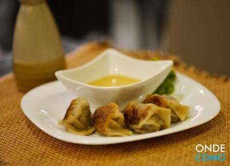 Gyosa (Pastel japonês de carne bovina)