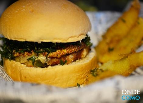 burger frango